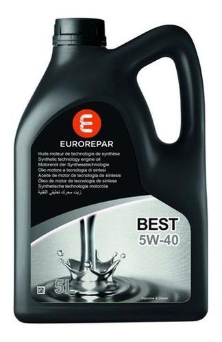 Aceite 5w40 5 Lts Eurorepar Grupo Psa 100% Sintético