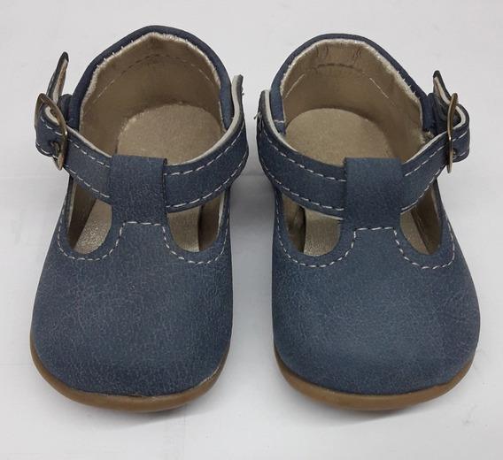 Zapatos Guillerminas Azules Bebas - Cari Bambini