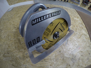 Sierra Circular Millers Falls Usa 8-1/4 210mm 1600w 220v