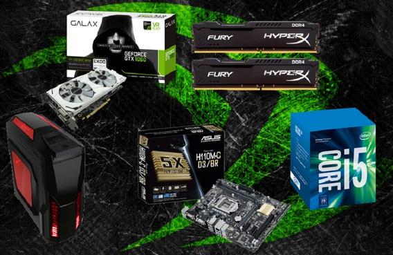 Pc Cpu Gamer Intel I5 7400 / 8gb / Gtx 1060 3gb/ 1 Tb