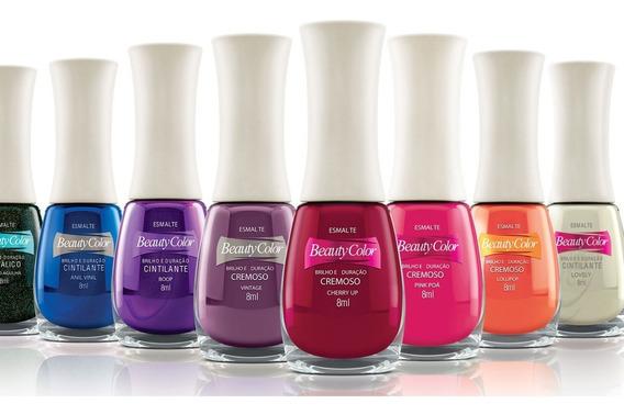 Kit 15 Esmaltes Beauty Color Atacado