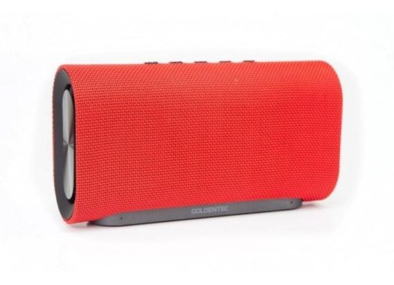 Caixa De Som Goldentec Gtinspire 2 Bluetooth 35065 Vermelho