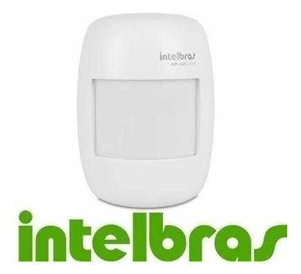 Sensor Infravermelho Passivo S/ Fio Intelbras Ivp 4000 Smart