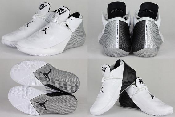 Tenis Jordan Why Not Zer0.1 Blanco #5.5, 6, 7 Y 7.5 Mx