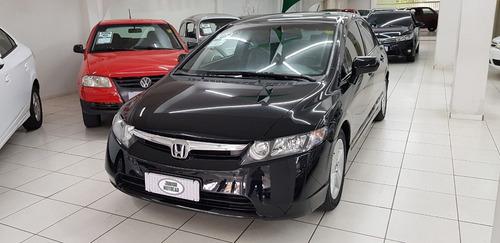 Honda Civic Sedan Lxs 1.8 Aut. Preto 2008 Flex