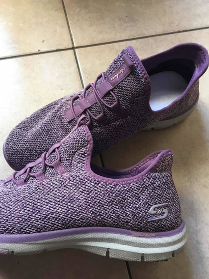 Zapatillas Sketcher Sin Cordones Impecables