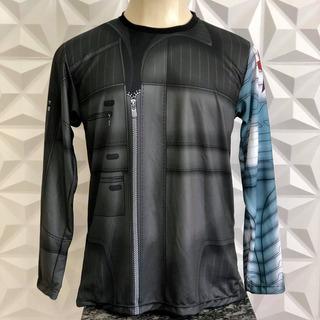 Camisa Uniforme Bucky Soldado Invernal Guerra Civil