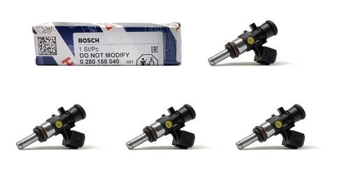 Jogo 4 Bicos 108lbs/h Bosch Alta Impedancia 0280158040