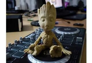 Baby Groot Muñeco De Guardianes De La Galaxia 18cm