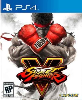 Juego Ps4 Street Fighter V