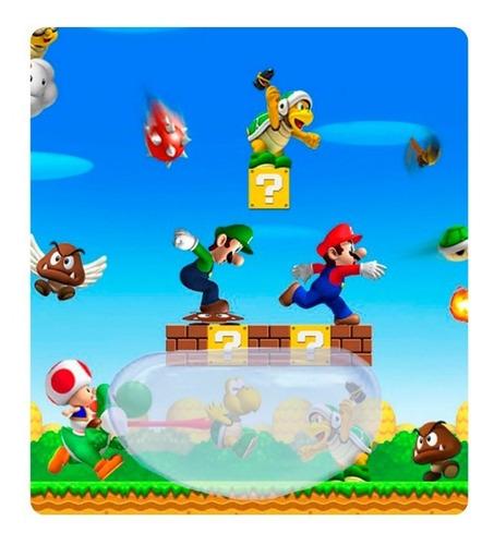 Pad Mouse Mario Bros Ergonómico Con Gel