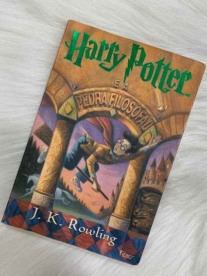 Livro Harry Potter E A Pedra Filosofal J. K. Rowling Rocco