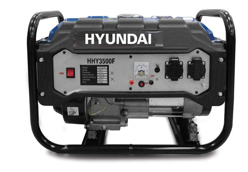 Generador 210cc 2800w Hyundai Hhy3000f- Ferrejido