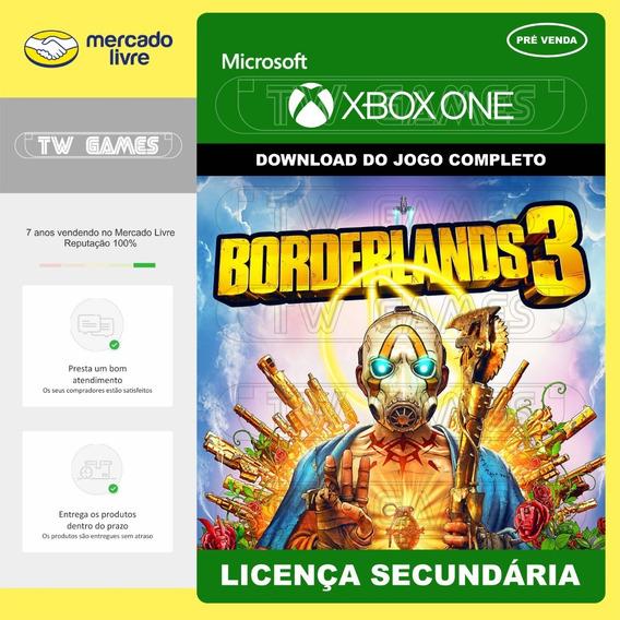 Pré Venda Borderlands 3 Digital Secundária Xbox One