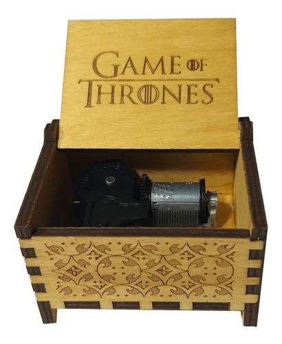 Imagen 1 de 5 de Caja Musical De Cuerda Game Of Thrones Intro Juego Tronos