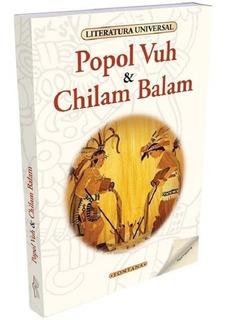 Libro. Popol Vuh / Chilam Balam. Anónimo. Clásicos Fontana.