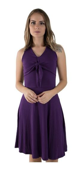 Vestido Feminino Em Malha- Moda Feminina Preço Baixo