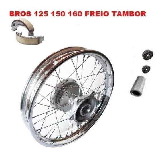Roda Traseira Cubo Original Completa Nxr Bros 125/150/160