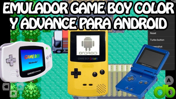 Emulador Gameboy Advance Gba Apk Android Y Tablets +600 Roms