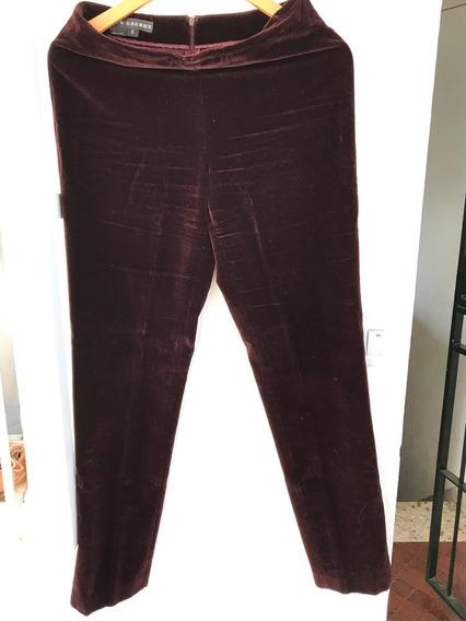 Pantalón De Pana Ralph Lauren Bordo
