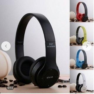 Fone De Ouvido Bluetooth Fone De Ouvido Usb Micro Sd Rádio