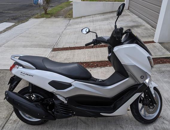 Yamaha Moto Scooter Nmax 155 2018 Blanco