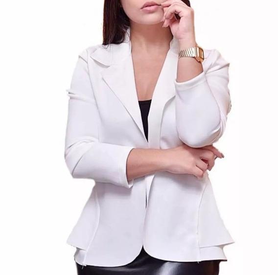 Kit 3 Blazer Femnino Casaco Plus Size Inverno P Ao G3 Top
