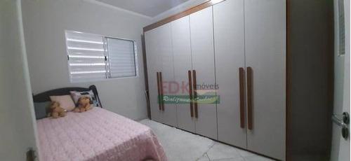 Imagem 1 de 5 de Casa Com 2 Dormitórios À Venda, 47 M² Por R$ 206.700 - Vila Brasileira - Mogi Das Cruzes/sp - Ca5434