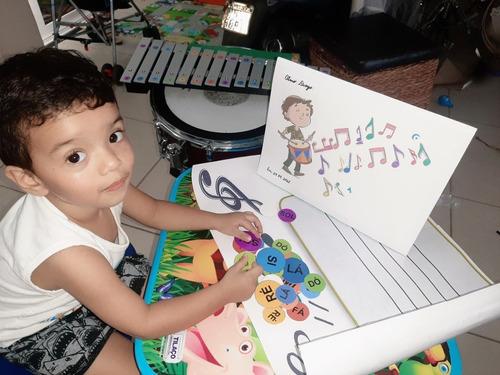 Imagem 1 de 5 de Aulas Particulares De Musicalização Infantil E Instrumento.