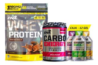 Whey Protein + Carbo Energy + Enargy Gel Ena