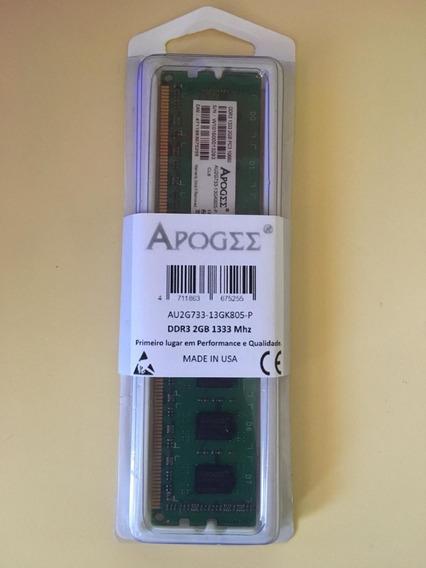 Memoria Ram Ddr3 2gb 1333 Mhz Pc Intel / Amd