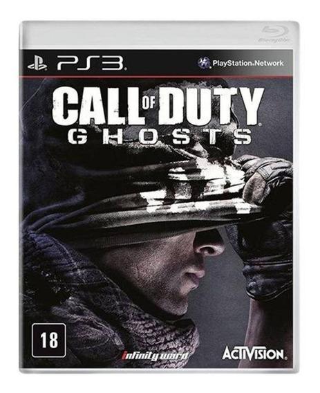 Call Of Duty Ghosts Ps3   Mídia Física Sem Caixinha