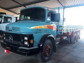 Caminhão Carroceria Mercedes Benz, Modelo Lk1118 - 1989