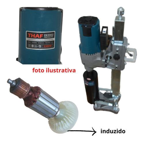 Induzido Perfuratriz 200mm - Thaf - Original De2002 - 220 V