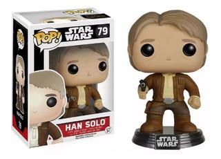 Funko Pop 79 Star Wars The Force Awakens Han Solo Playking