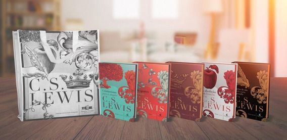 Kit - C.s Lewis - Capa Dura - 5 Volumes - Acompanha Sacola
