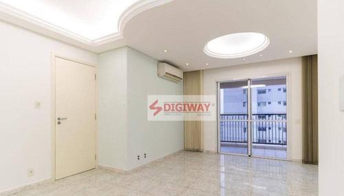 Imagem 1 de 30 de Apartamento Com 3 Dormitórios À Venda, 101 M² Por R$ 1.380.000,00 - Vila Mariana - São Paulo/sp - Ap2417