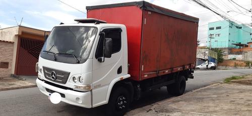 Mb 1016 Bau Sider 4m 2012 Ford/cargo/vw/8150