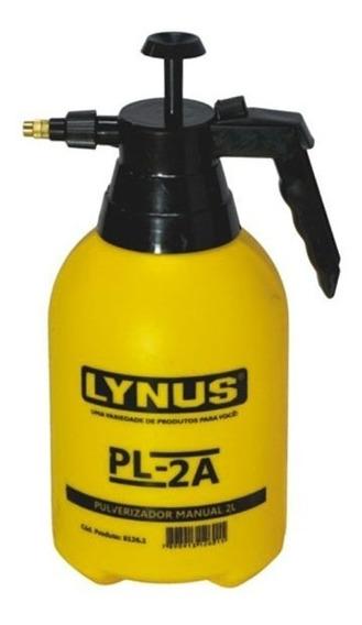 Pulverizador Manual 2 Litros Para Hortas Pl-2a Lynus