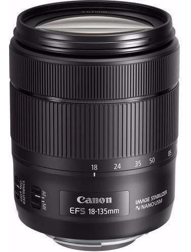Lente Objetiva Canon 18-135mm Ef-s F/3.5-5.6 Is Nano Usm