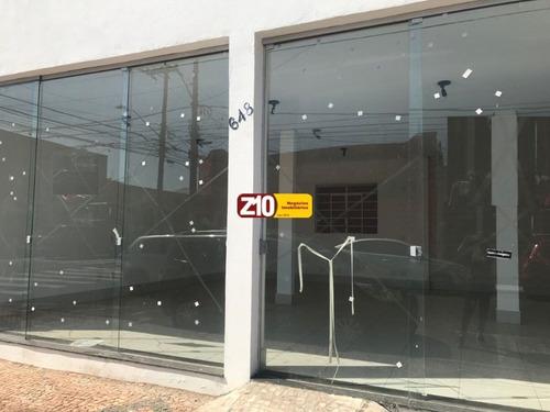Imagem 1 de 14 de Sl01016 - Salão Comercial Para Locação - Centro - Z10 Imóveis Indaiatuba  - At 200m² Ac 150m²  Salão Amplo - Sl01016 - 68496568