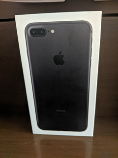 iPhone 7 Plus Preto Fosco 128
