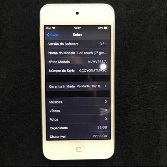 iPod Touch 7º Geração Ultimo Modelo A2178 Prata 32gb Novinho