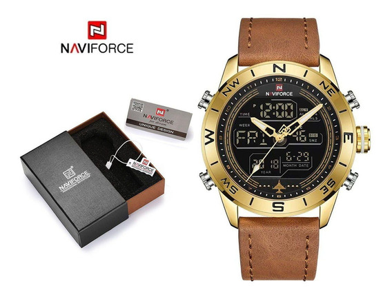 Relógio Naviforce De Aço A Prova D