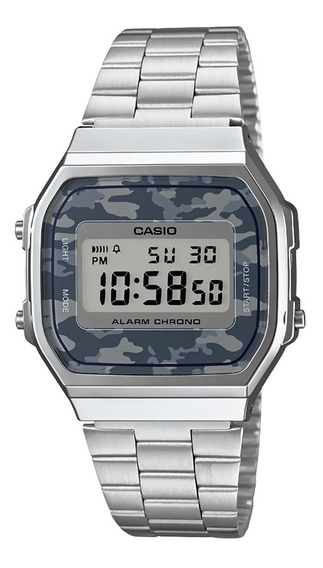 Reloj Casio Illuminator A168wec-1vt Original Time Square