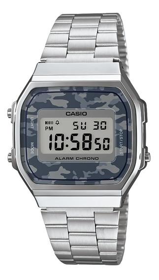 Reloj Casio Illuminator A168wec-1vt Original Time Square