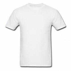 Kit 10 Camisas Brancas Lisa 100% Poliéster Para Sublimação