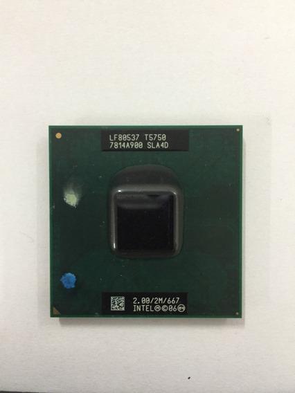 Processador Para Notebook Intel Dual Core T5750