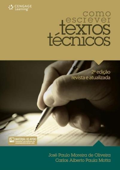 Como Escrever Textos Tecnicos - 2ª Ed.