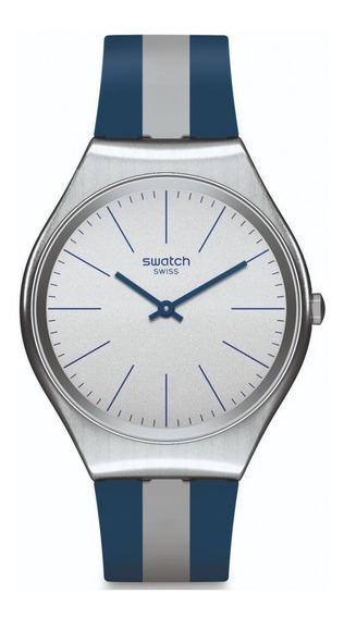 Reloj Skinspring Azul Swatch